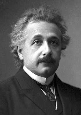 Picture of Albert Einstein